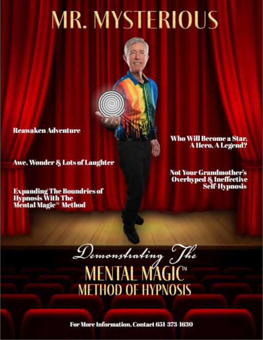 Mr. Mysterious Hypnosis show poster